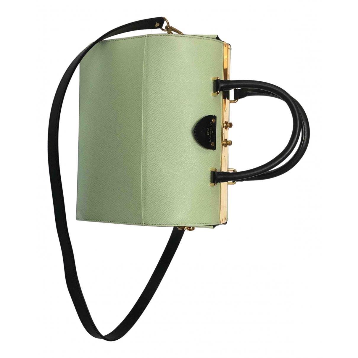 Louis Vuitton - Sac a main Speedy Doctor 25 pour femme en cuir - vert