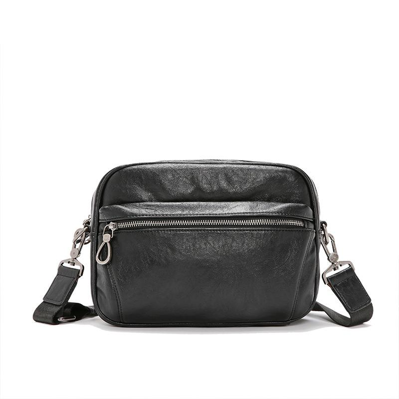 Men Faux Leather Business Crossbody Bag