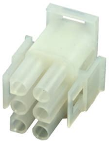 Molex , MLX, 42021, 6 Way, 2 Row, Straight Terminal Block Plug (10)