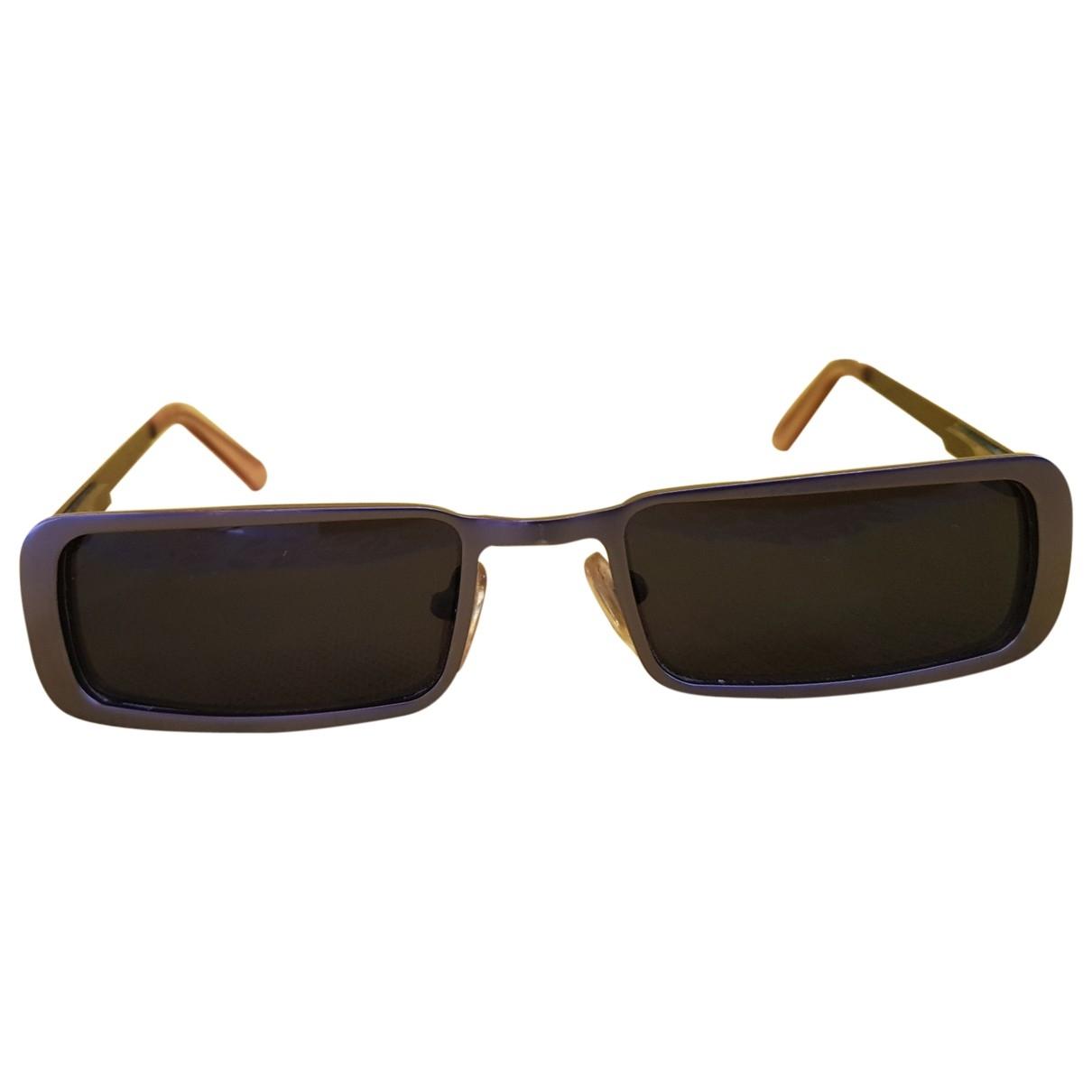 Dolce & Gabbana \N Sonnenbrillen in  Braun Metall