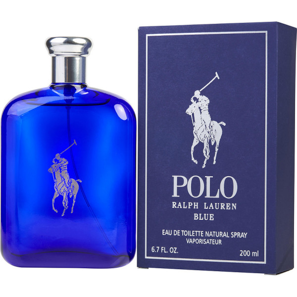 Polo Blue - Ralph Lauren Eau de toilette en espray 200 ML