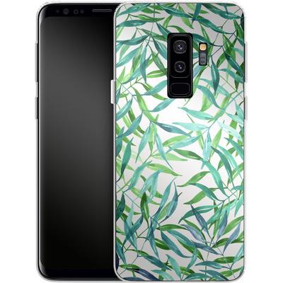 Samsung Galaxy S9 Plus Silikon Handyhuelle - Palm Print von Becky Starsmore