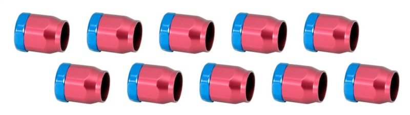 Spectre 2161 Magna-Clamp Hose Clamps 5/16in. (10 Pack) - Red/Blue