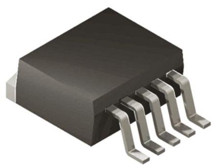 Texas Instruments TL1963A-33KTTR, Low Noise LDO Voltage Regulator, 1.5A, 3.3 V, 3% 5-Pin, D2PAK (5)