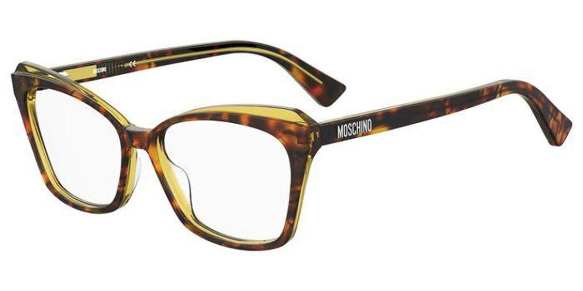 Moschino MOS569 HJV Women's Glasses Tortoise Size 53 - Free Lenses - HSA/FSA Insurance - Blue Light Block Available