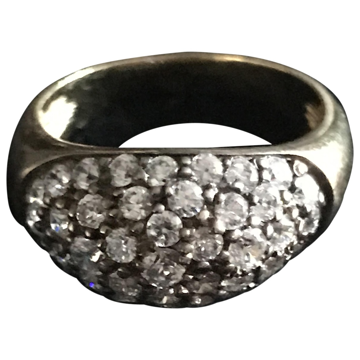 No 6 Store \N Ring in  Gold Silber