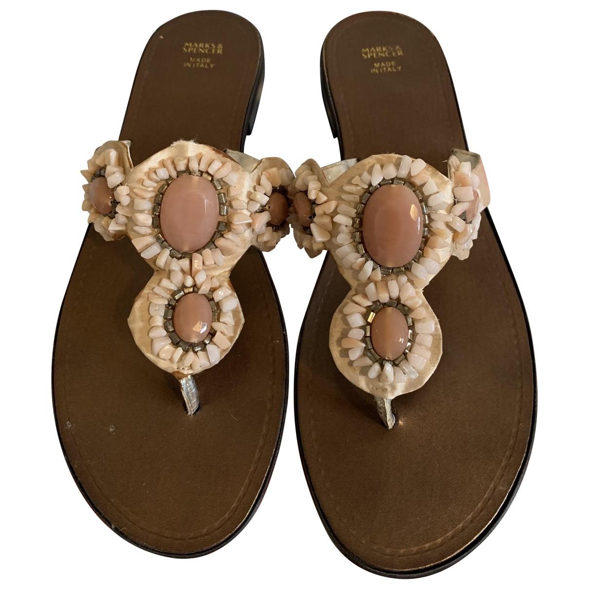- Sandales   pour femme - rose