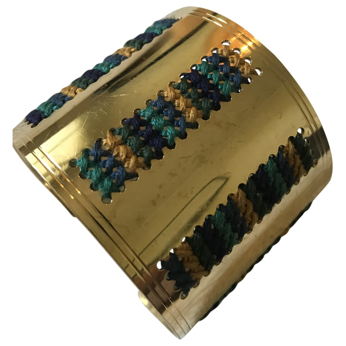Camille Enrico \N Armband in  Gold Metall