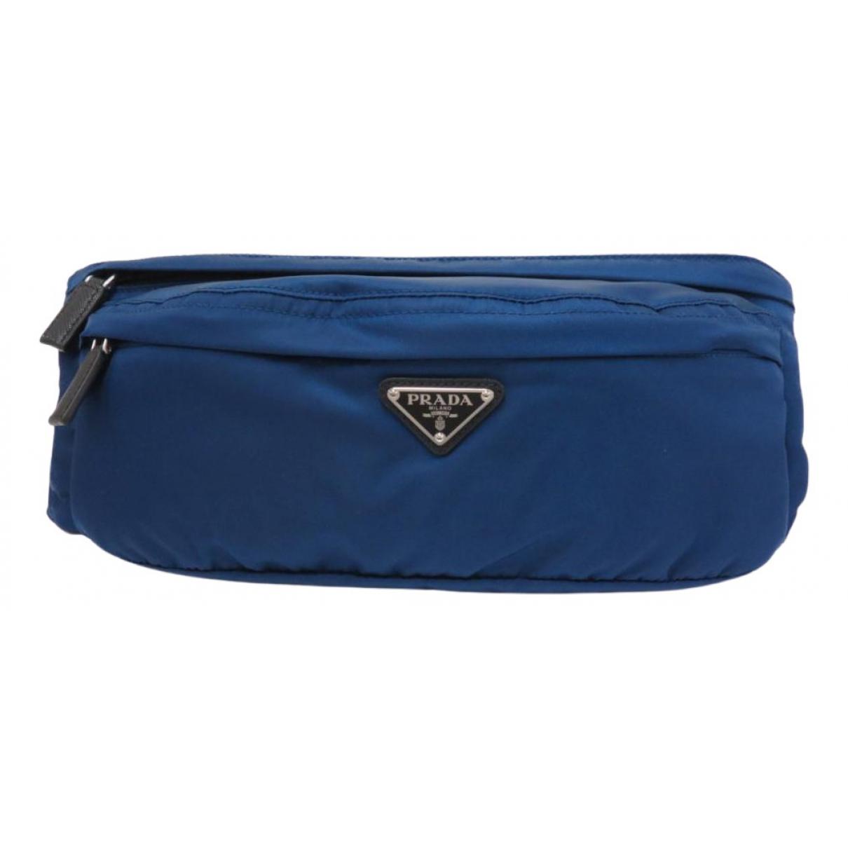 Bolsos clutch en Sintetico Azul Prada