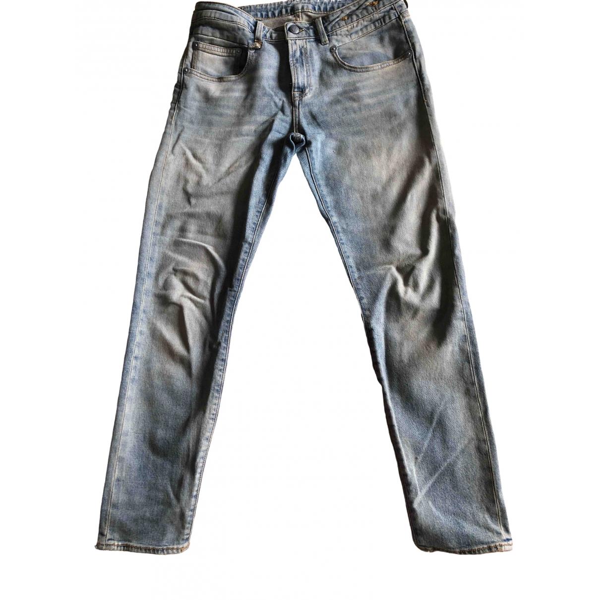 R13 \N Blue Cotton - elasthane Jeans for Women 28 US