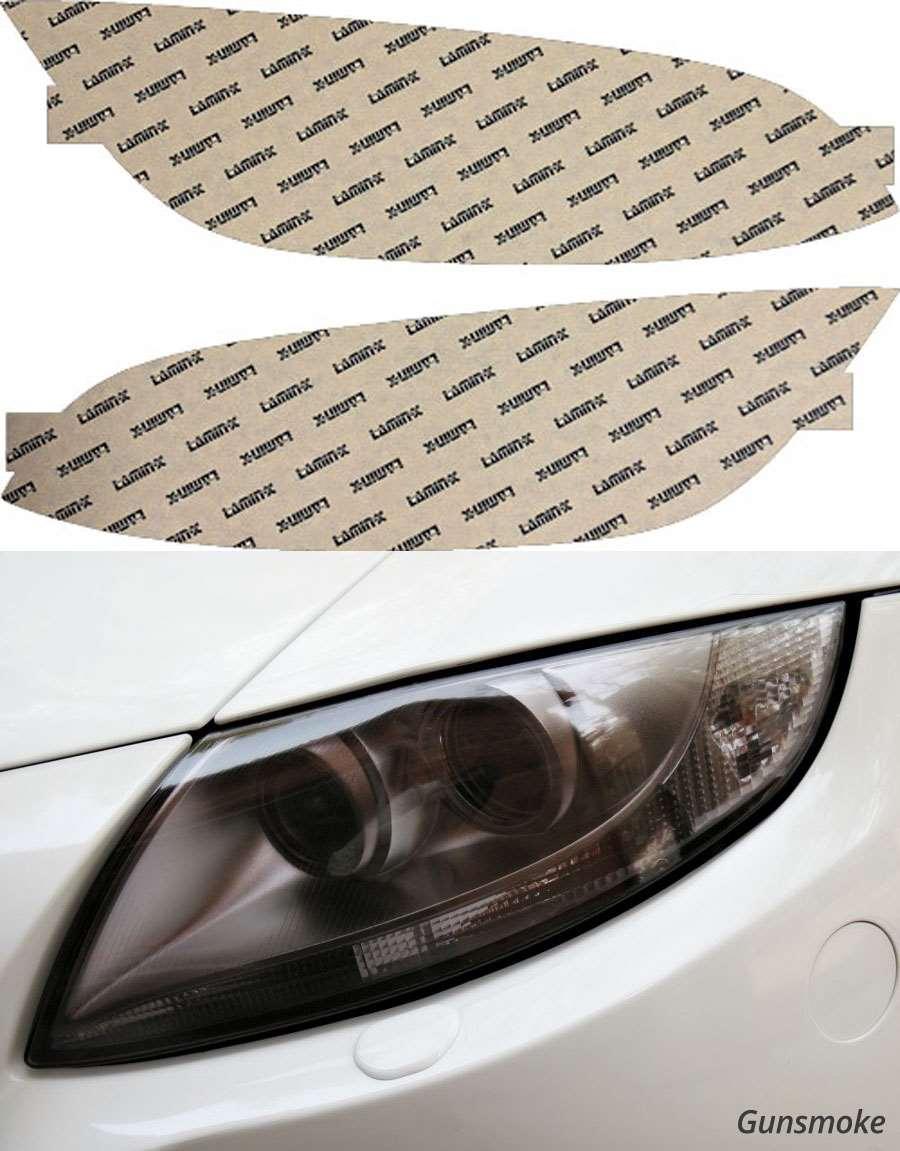 BMW M3 Coupe 08-13 Gunsmoke Headlight Covers Lamin-X B024G