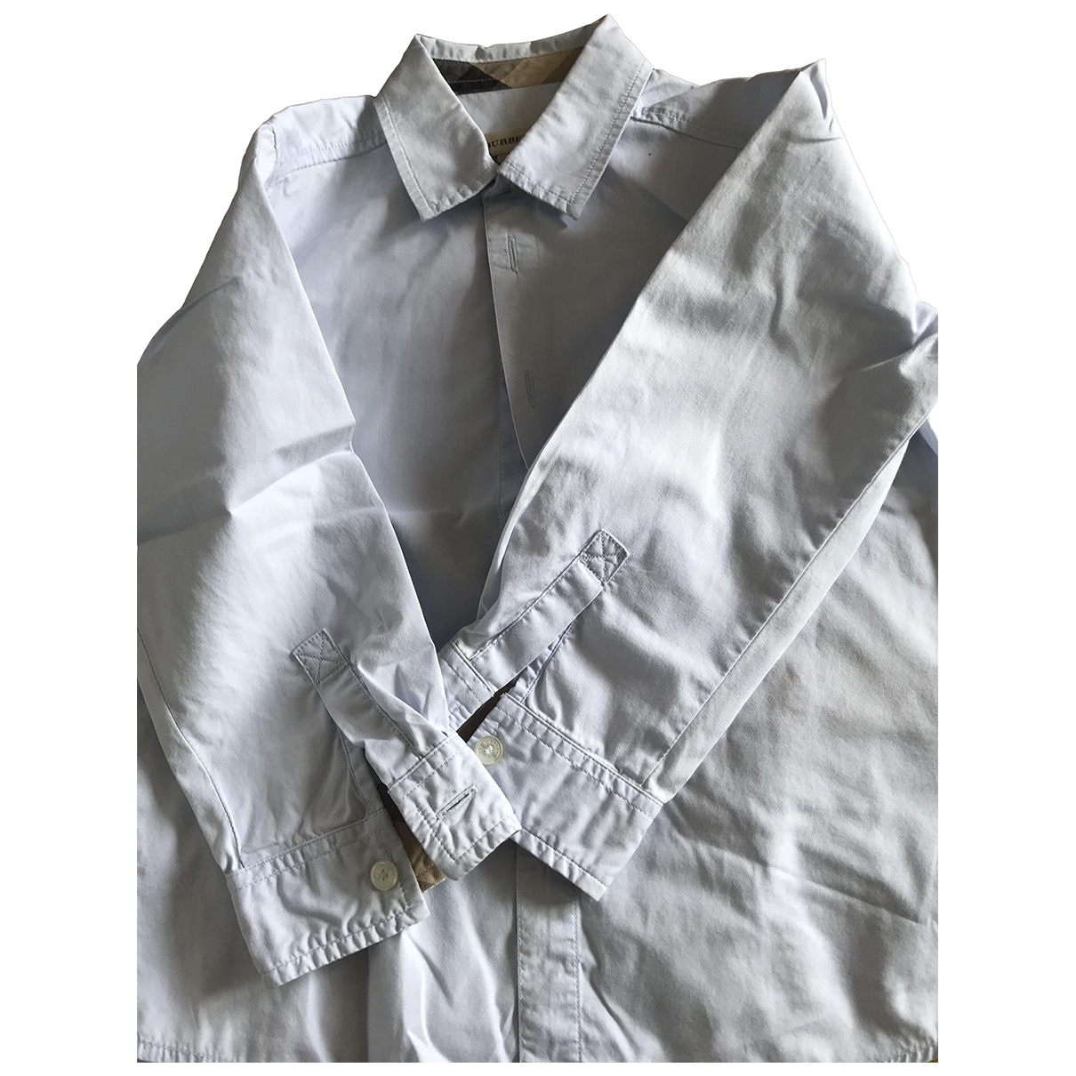Burberry \N Blue Cotton  top for Kids 3 years - up to 98cm FR