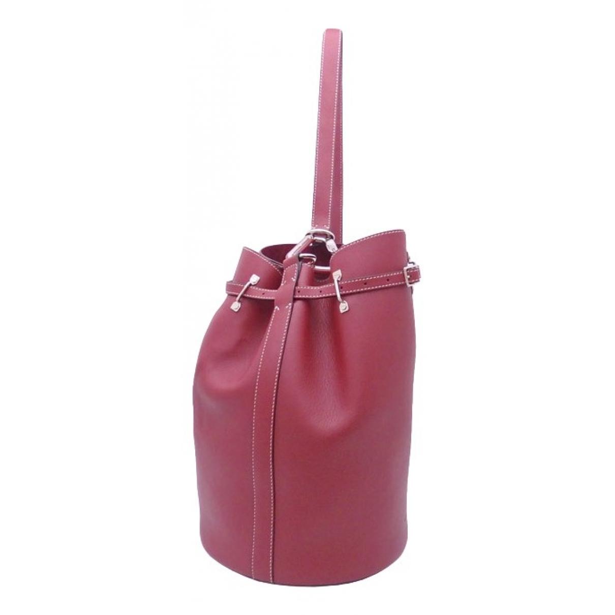 Bally \N Red Leather handbag for Women \N