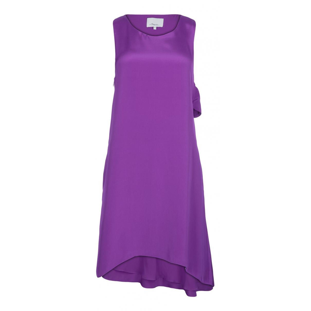 3.1 Phillip Lim N Purple Silk dress for Women 12 UK