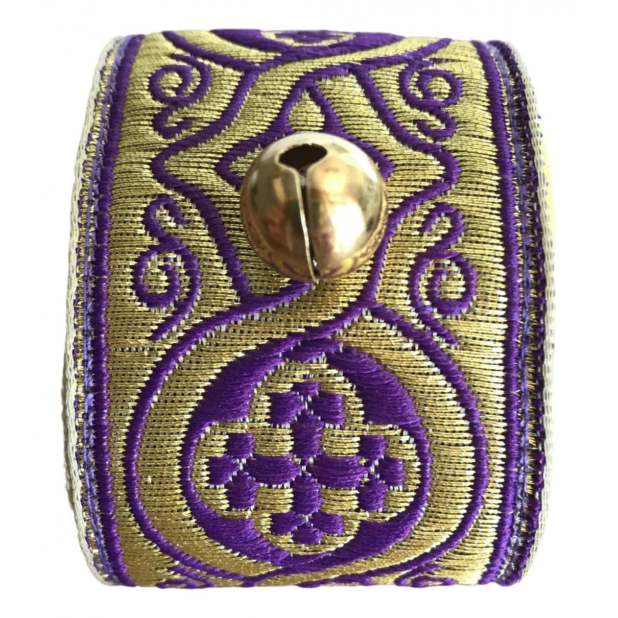 Non Signé / Unsigned \N Metallic Cloth bracelet for Women \N