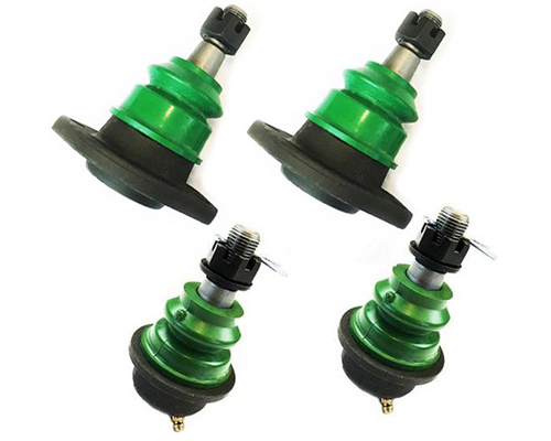 Kryptonite 0110BJPACK-2 Upper and Lower Ball Joints Package Deal For Aftermarket Control Arms Chevrolet Silverado 1500HD   2500HD   3500HD 01-10
