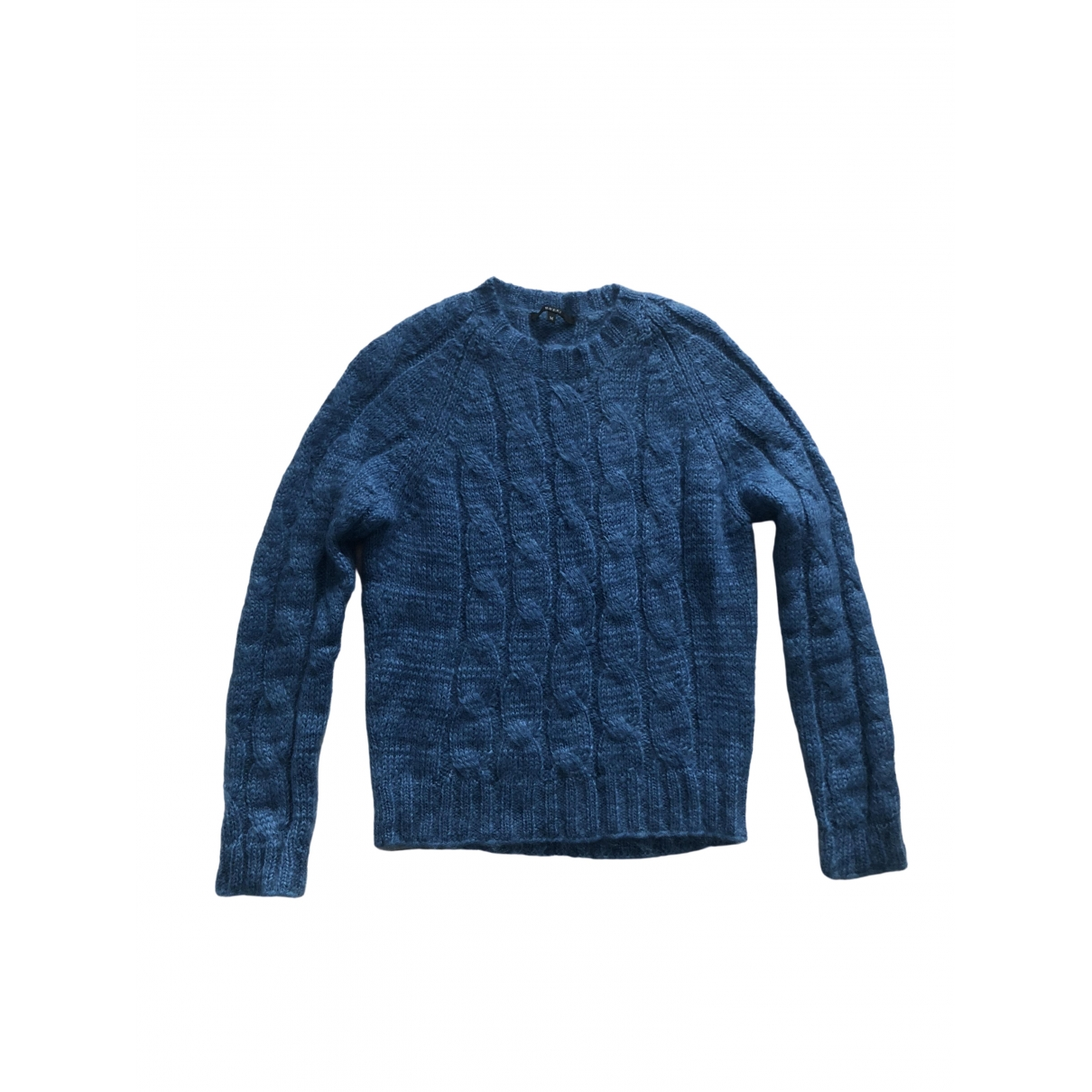 Gucci - Pull   pour femme en soie - bleu