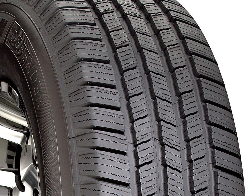 Michelin 14392 Defender LTX M/S Tire 235/55 R18 100T SL BSW