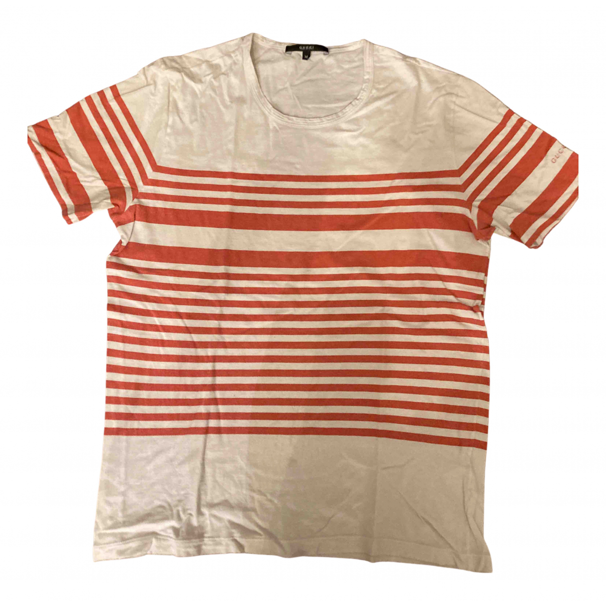 Gucci N White Cotton T-shirts for Men M International