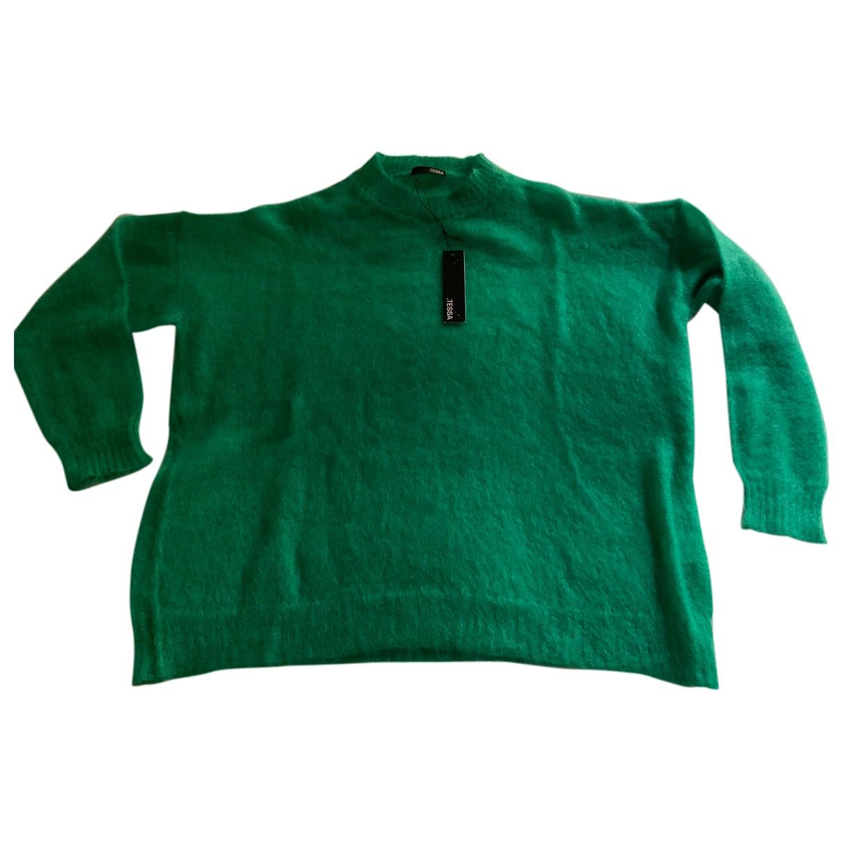 - Pull Oversize pour femme en laine - vert