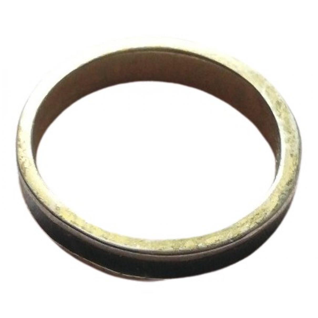- Bague Alliance pour femme en acier - dore