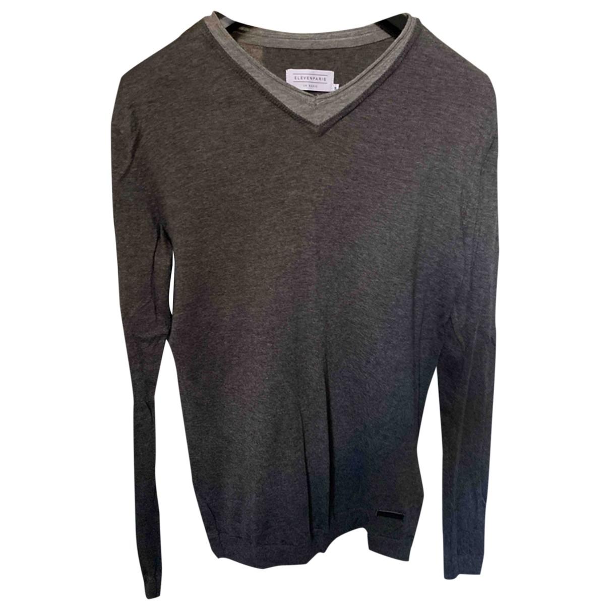 Eleven Paris \N Pullover.Westen.Sweatshirts  in  Grau Viskose