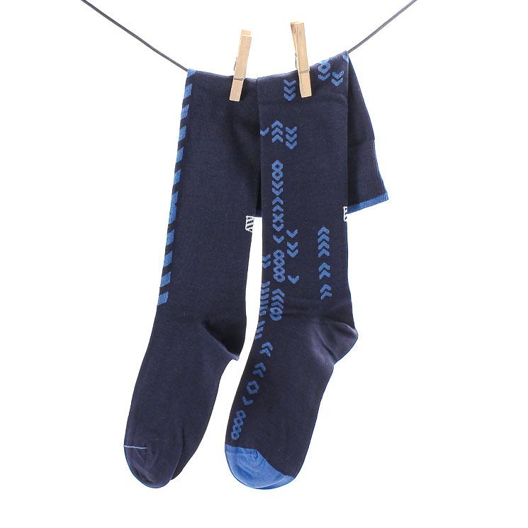 OYBO, Code Blue Unisex Knee Socks, dark blue Größe 39-41