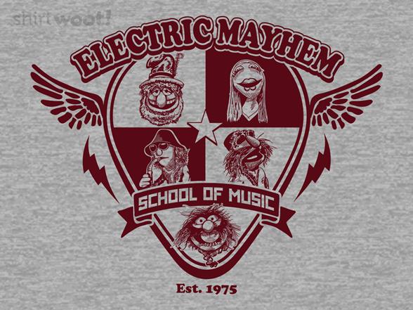 Electric Mayhem School Of Music T Shirt