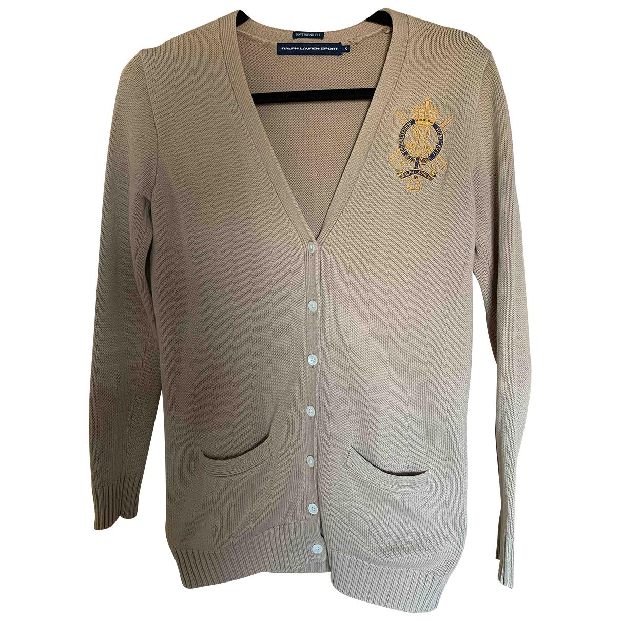 Ralph Lauren \N Beige Cotton Knitwear for Women S International