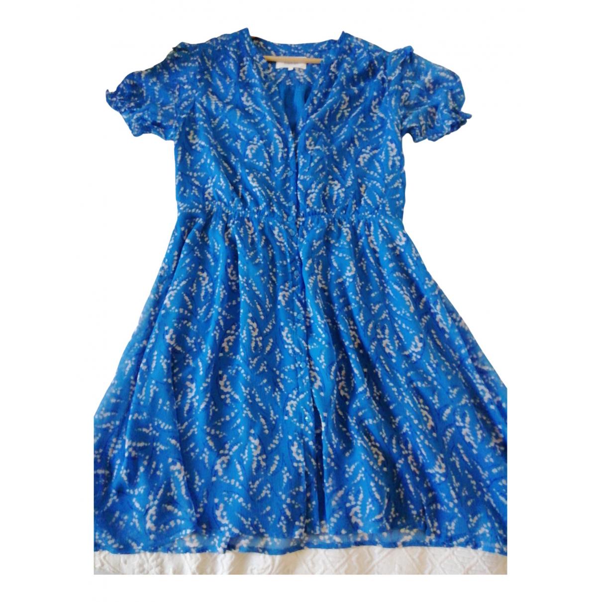 Ba&sh Spring Summer 2020 Blue dress for Women 40 FR