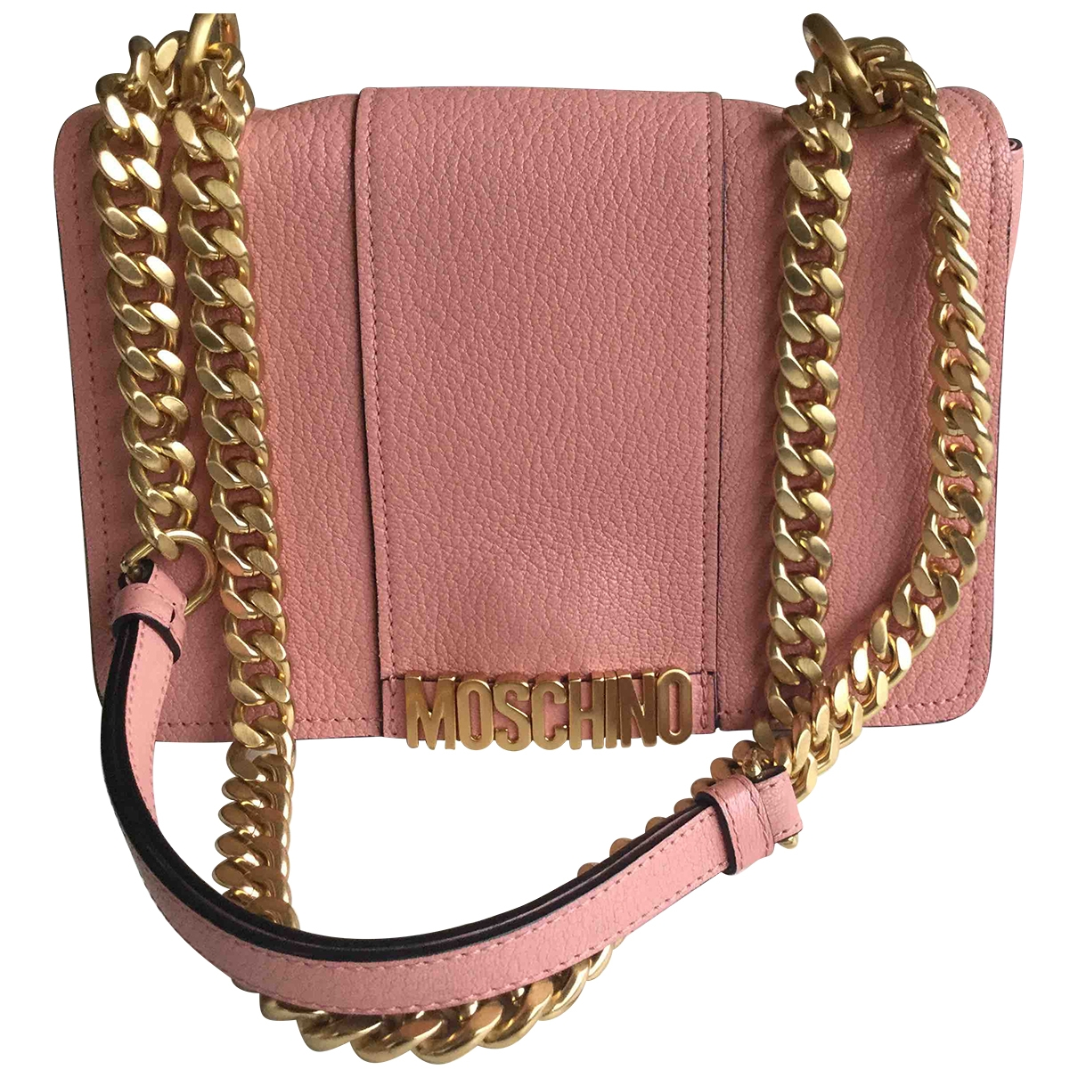 Moschino \N Pink Leather handbag for Women \N