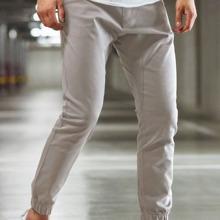 Pantalones conicos unicolor