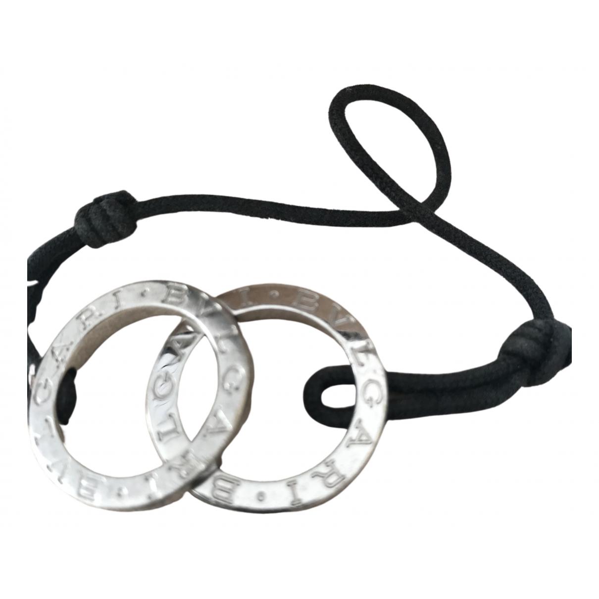 Bvlgari - Bracelet B.Zero1 pour femme en argent - noir