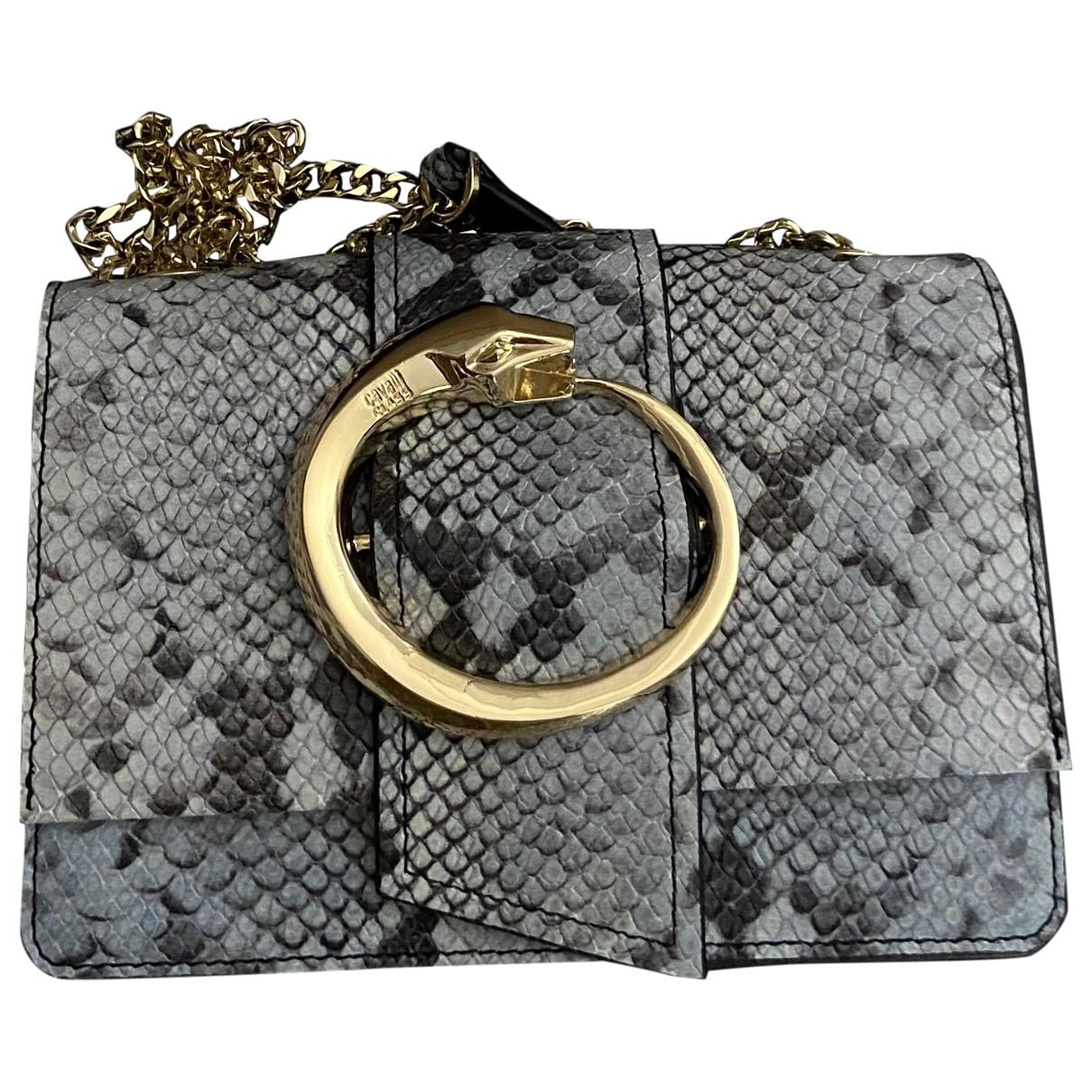 Roberto Cavalli \N Blue Leather handbag for Women \N