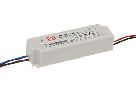 Mean Well Constant Current LED Driver 16.8W 9 → 48V