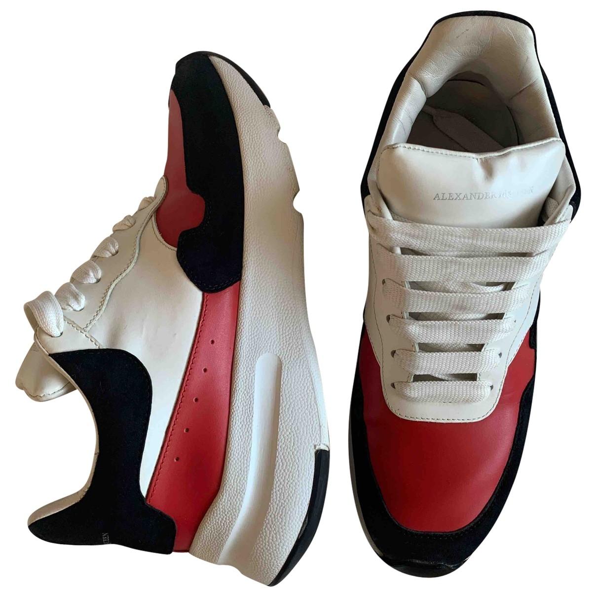 Alexander Mcqueen \N Sneakers in  Bunt Leder