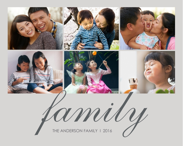 Family + Friends 8x10 Designer Print - Glossy, Prints -The Anderson Family