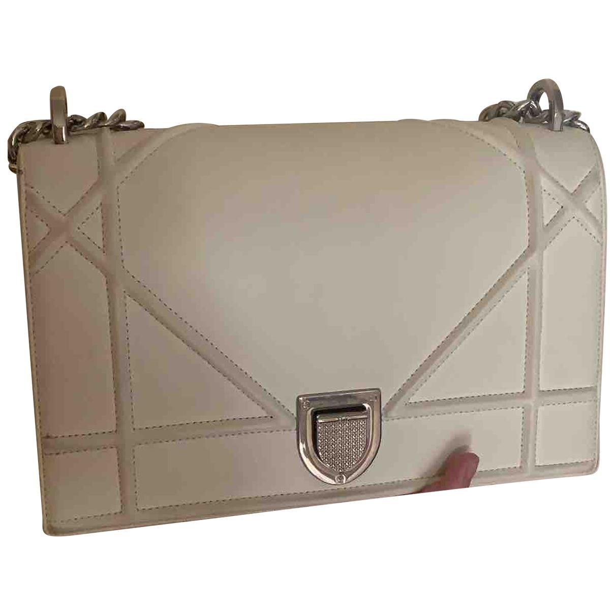 Dior Diorama Anthracite Leather handbag for Women \N