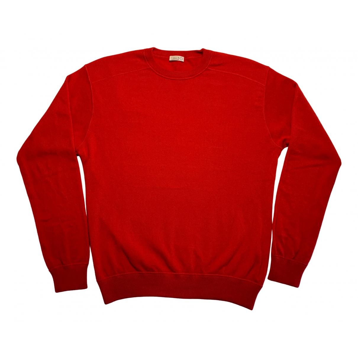 Zilli \N Pullover.Westen.Sweatshirts  in  Rot Kaschmir