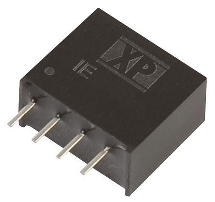 XP Power IE 1W Isolated DC-DC Converter Through Hole, Voltage in 10.8 → 13.2 V dc, Voltage out 15V dc
