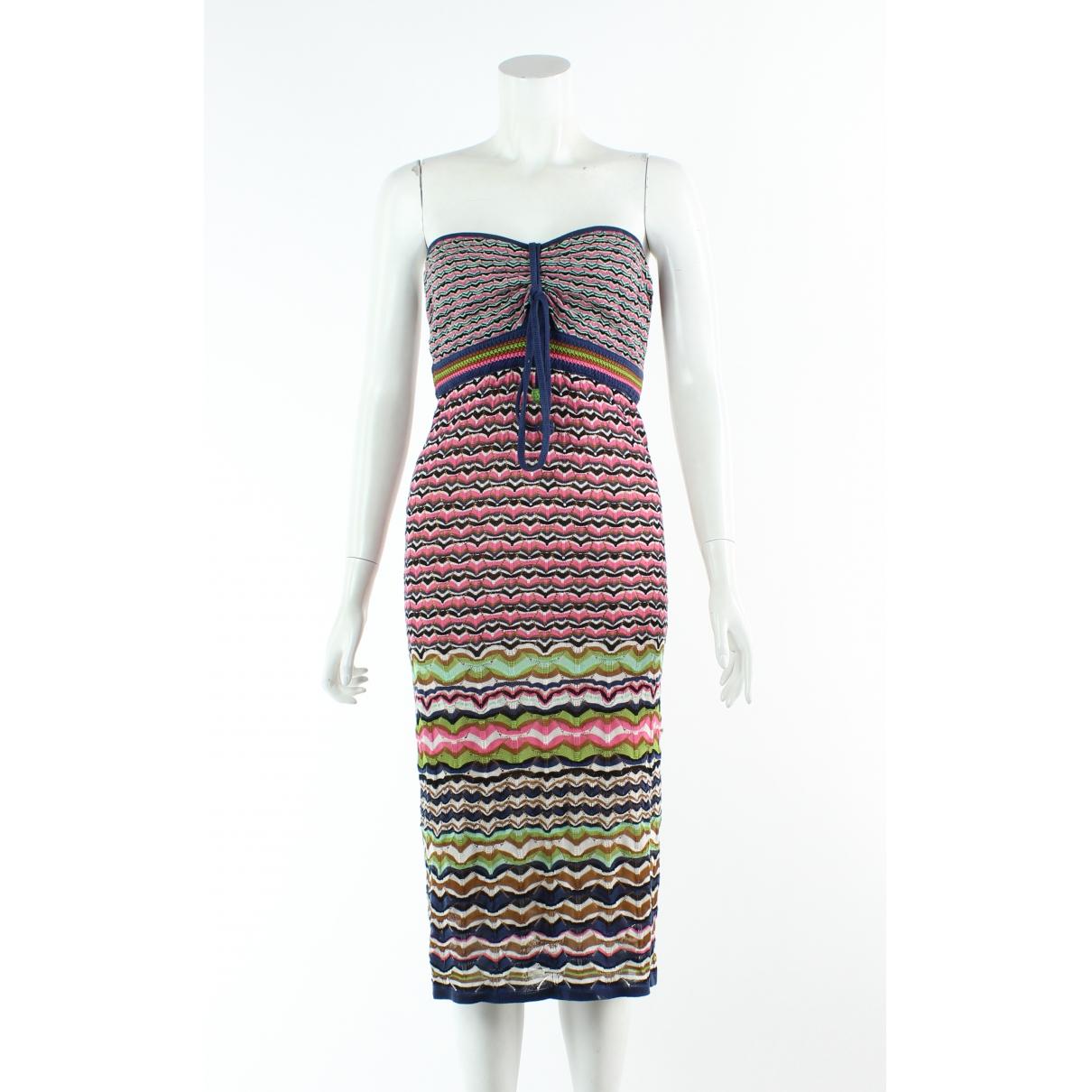 M Missoni \N Multicolour Cotton dress for Women 48 FR