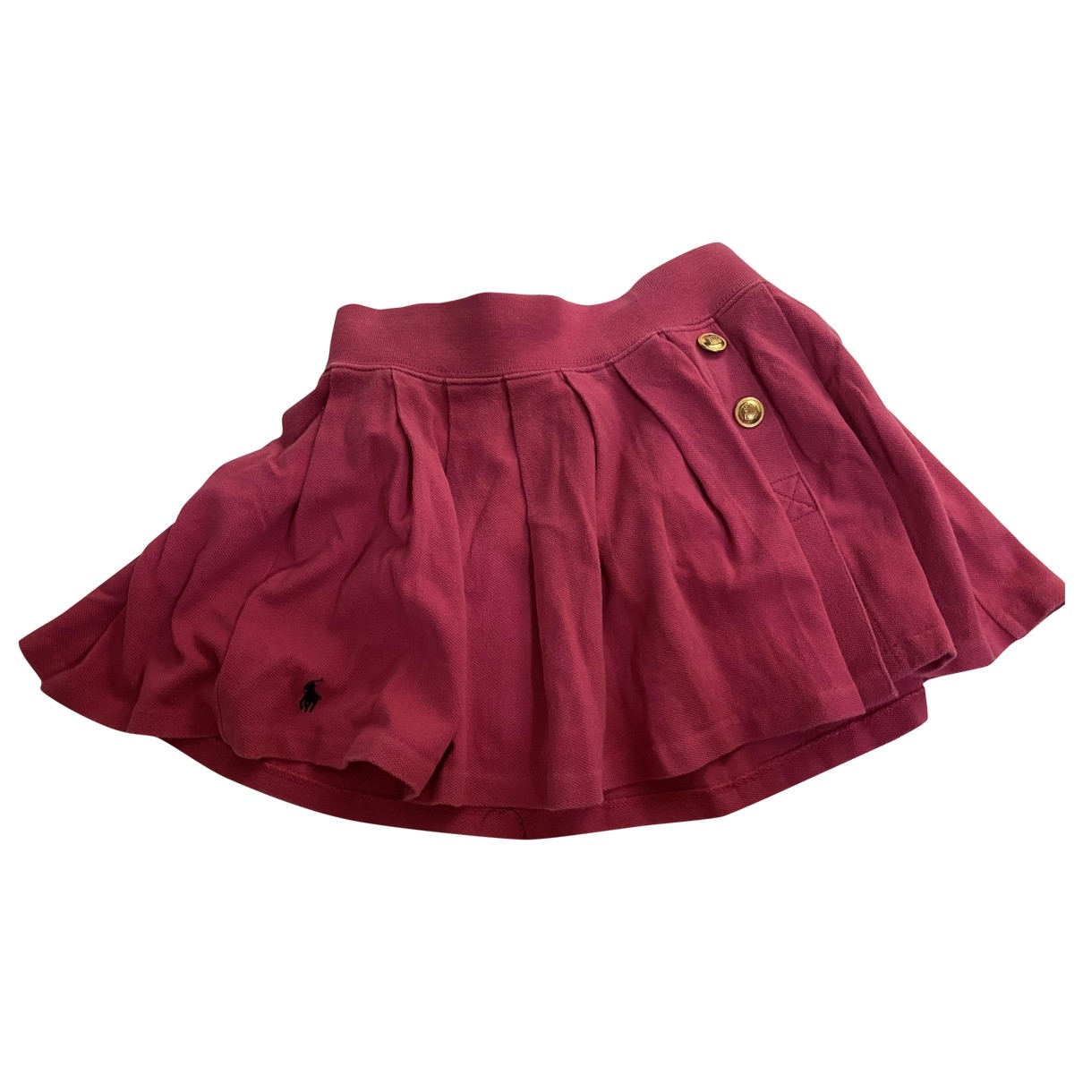 Ralph Lauren \N Pink Cotton skirt for Kids 6 years - up to 114cm FR