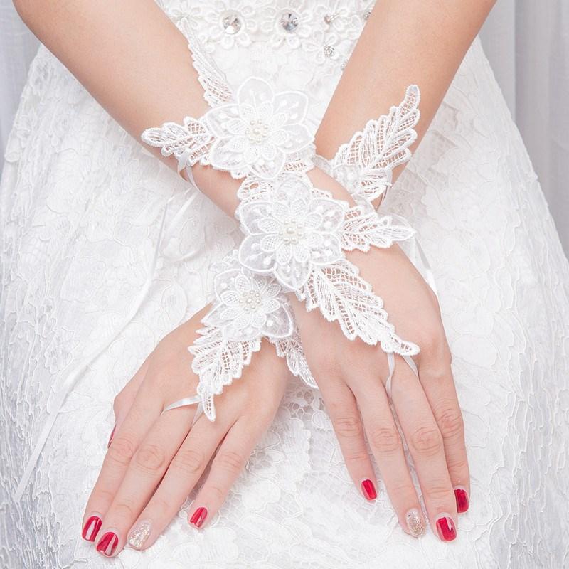 Ericdress Lace Flower Wedding Gloves