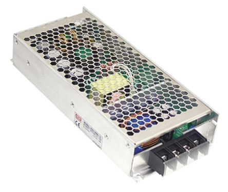 Mean Well RSD 300 300W Isolated DC-DC Converter Rack Mount, Voltage in 33.6 → 62.4 V dc, Voltage out 24V dc