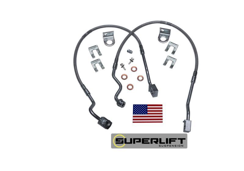 Superlift 91260 Bulletproof Brakes Hose - Front - 95-97 Ranger w/ 4-6 Lift Ford Ranger 1995-1997