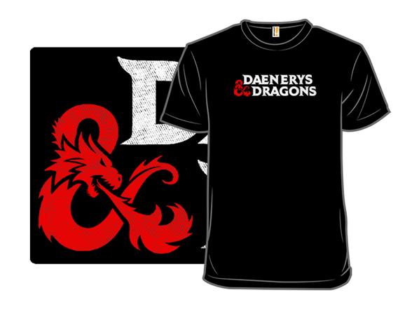 Daenerys And Dragons T Shirt