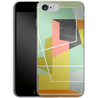 Apple iPhone 6s Plus Silikon Handyhuelle - Color Block II von Susana Paz