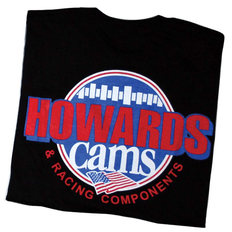 T-Shirt; Howards Cams SHIRTB-XXL SHIRTB-XXL