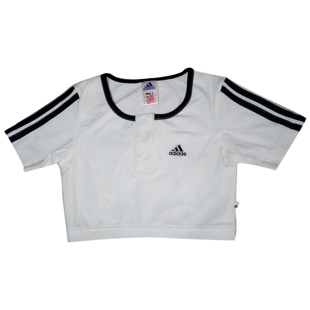 Adidas \N White Cotton  top for Women 44 IT
