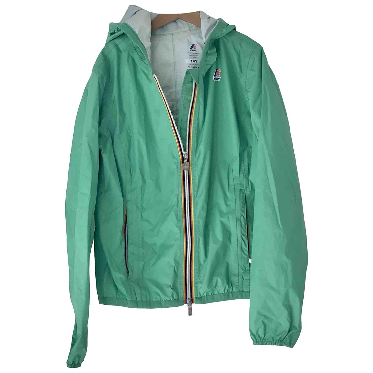 K-way - Blousons.Manteaux   pour enfant - vert